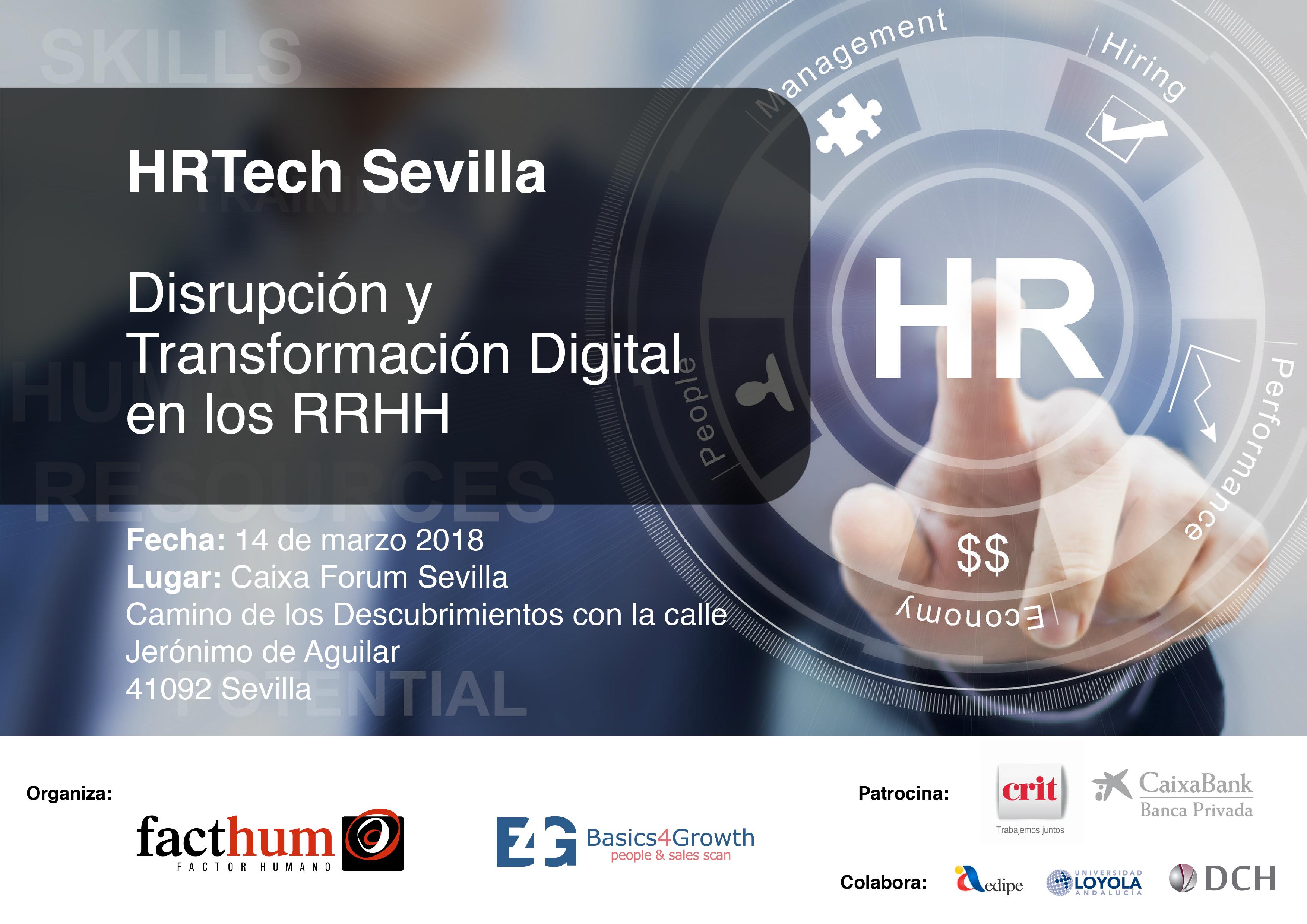 HRTech Sevilla: Disrupción y Transformación Digital en los RRHH