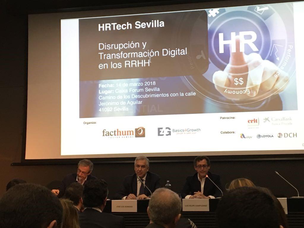 Recursos Humanos y Transformación Digital protagonistas del HRTech Sevilla, evento organizado por Facthum y Basics4grotwh